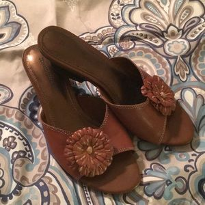 Naturalizer Leather Slip-Ons Sz 8 1/2